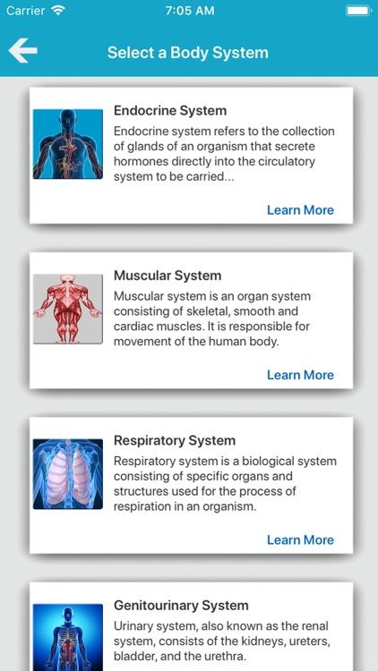 The Human Body Systems screenshot-3
