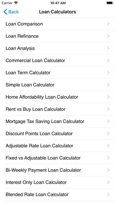 EZ Financial Calculators Pro Screenshot
