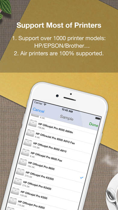Quick Print for iPhone screenshot three