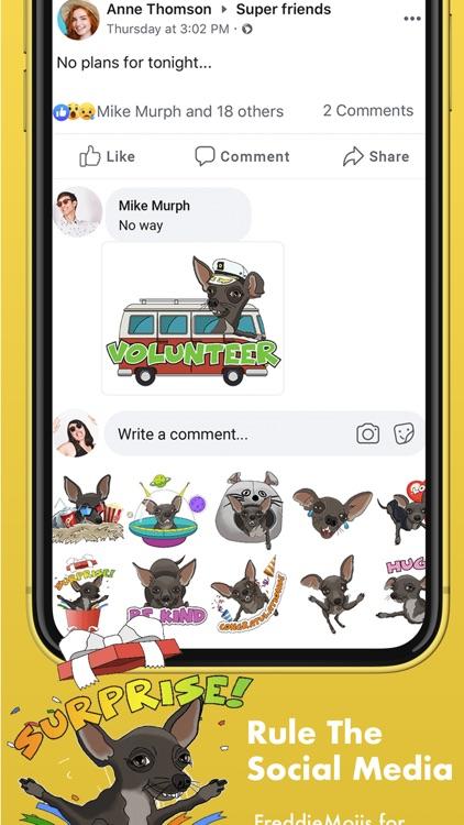 FreddieMojis - Chihuahua emoji screenshot-7