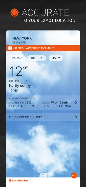 AccuWeather: Weather Radar Screenshot