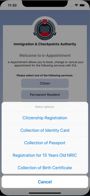 eAppt@ICA on the App Store