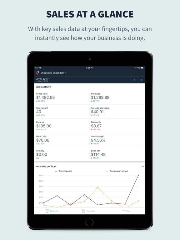 ShopKeep Pocket screenshot