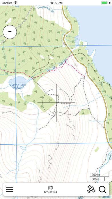 Lake District Outdoor Map PRO screenshot 3