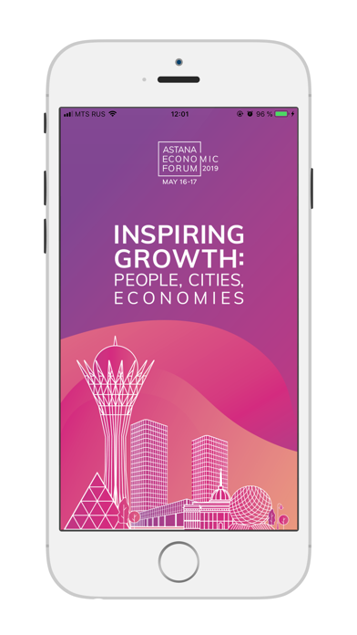 Screenshot for Astana Economic Forum 2019 in United States App Store