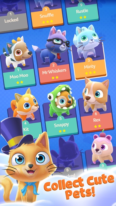 Pet Paradise: Bubble Pop Match screenshot 4
