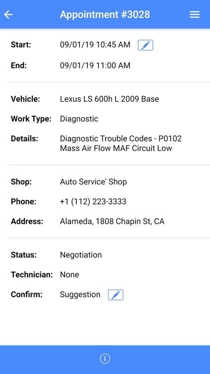 Auto Repair Cloud for iPhone screenshot-7