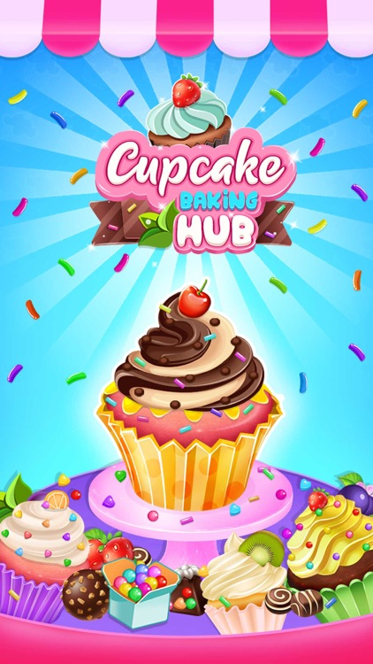 Cupcake Maker Bakery Shop screenshot-3