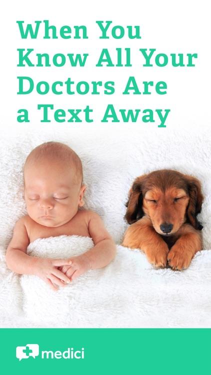 Medici: Text Your Doctors, Vet screenshot-0