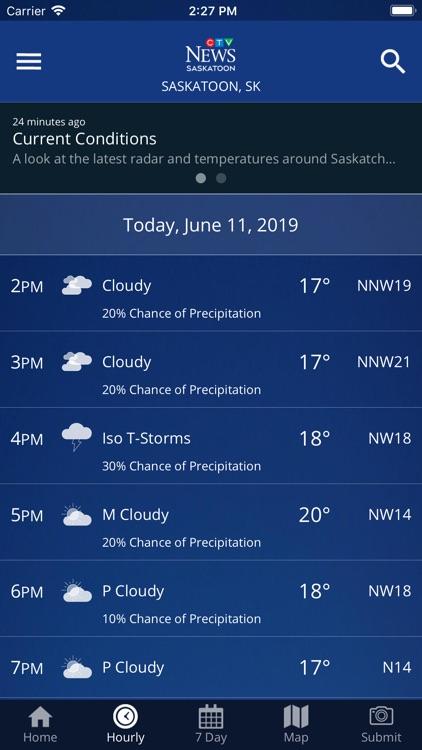 CTV News Saskatoon Weather