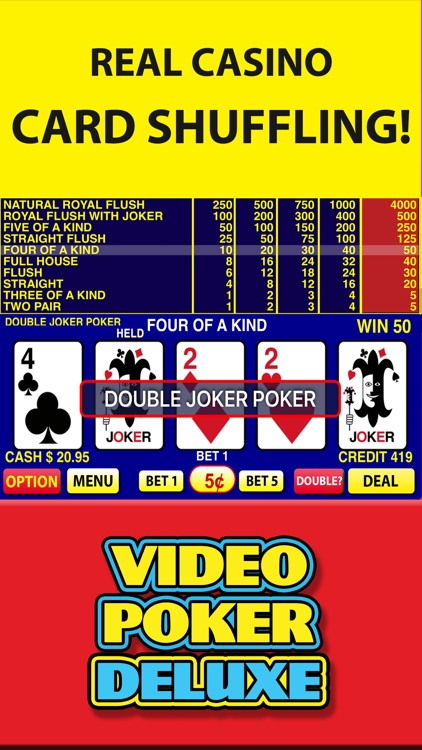 Video Poker Deluxe Casino screenshot-4