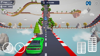Car Stunts 3D - Sky Parkour screenshot 5