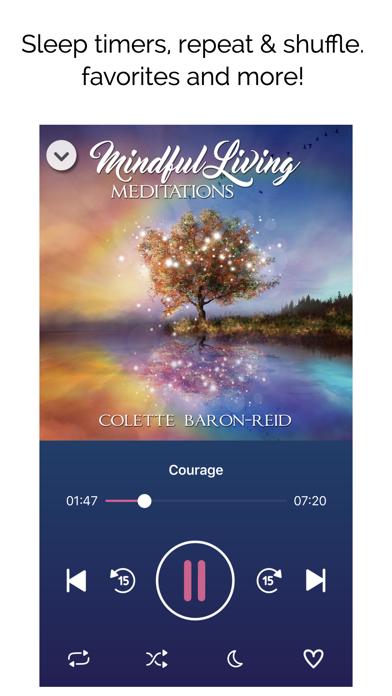 Mindful Living Meditations screenshot three