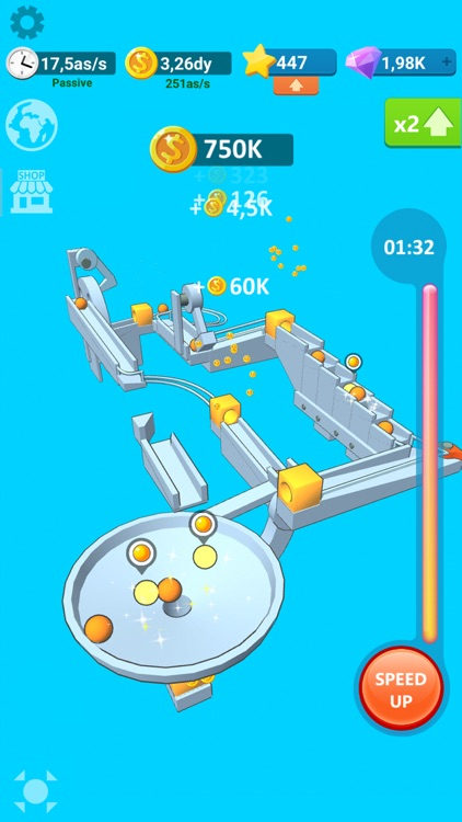 Balls Rollerz Idle 3D Puzzle screenshot-1