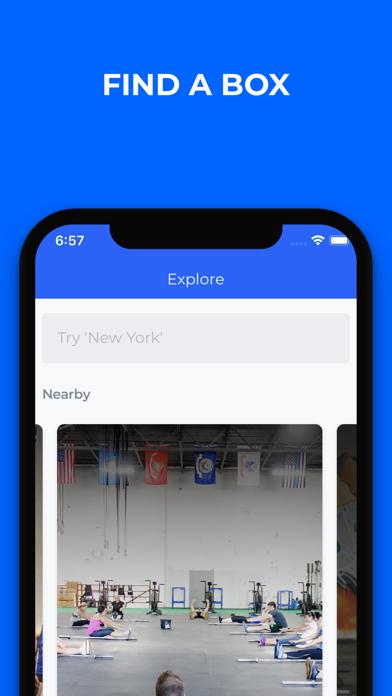 Screenshot of BOXSPOT App