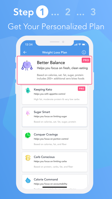 iTrackBites: Weight Loss Diet Screenshot