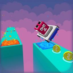 Flippy Journey - Pixel Go