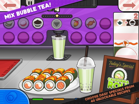 Papa's Sushiria To Go! screenshot 10