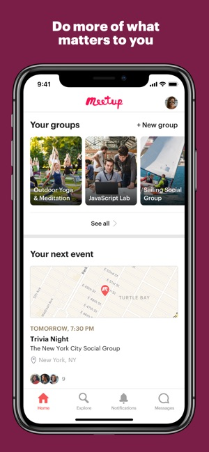 Meetup: Do what matters to you on the App Store