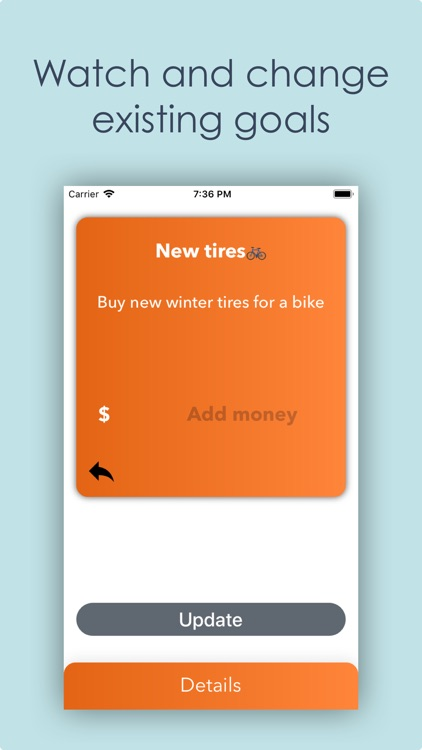 Money box App - Plan purchases screenshot-3