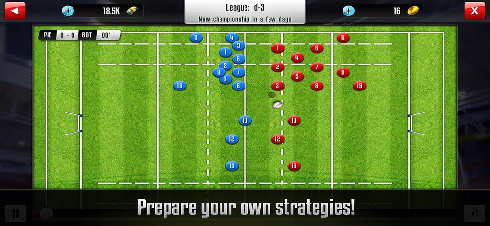 Rugby Manager : Be a manager hack tool