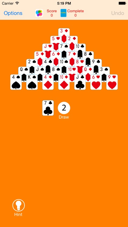 Classical Pyramid Solitaire