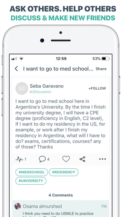 Screenshot for MEDizzy - Medical Community in South Africa App Store