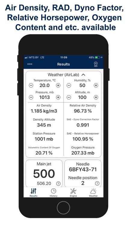 Jetting for Husqvarna 2T Moto screenshot-4