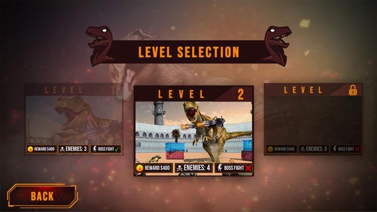 Dinosaur in Fighting Arena screenshot-3