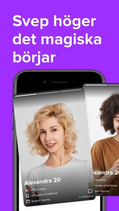 Svep dating app för iPhone