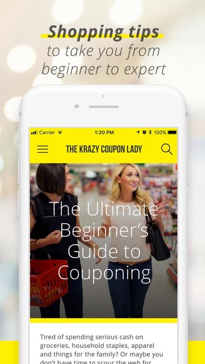 Krazy Coupon Lady: Shop Deals screenshot-4