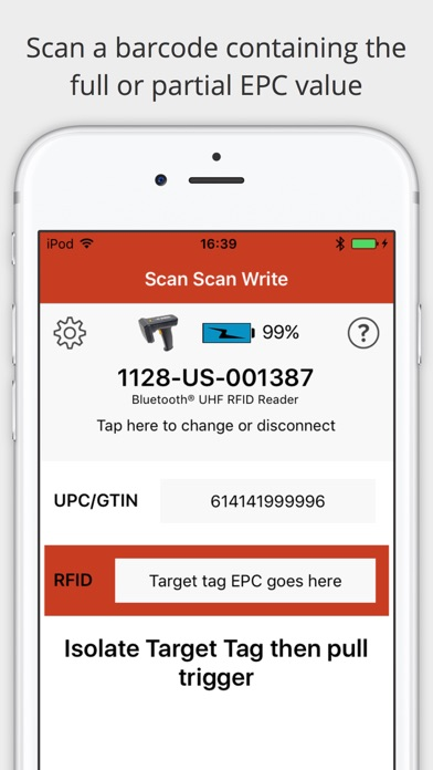 RFID Scan Scan Write by Technology Solutions (UK) Ltd (iOS, United