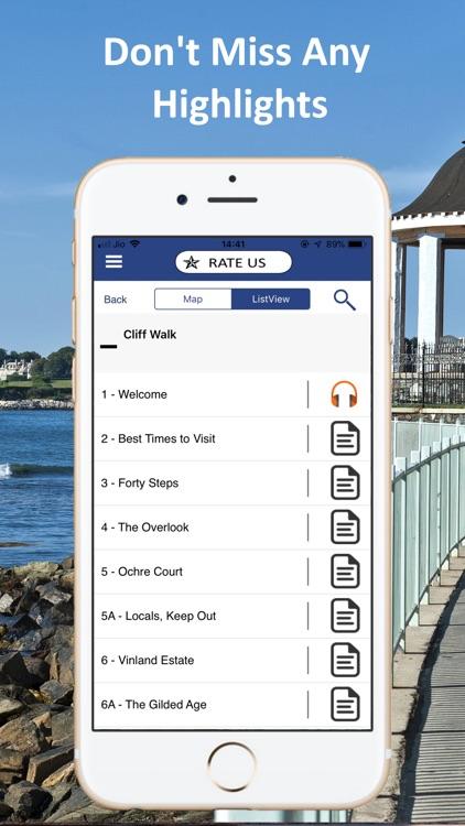Newport Cliff Walk Tour Guide screenshot-4