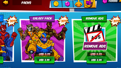 Robot Superhero: Boxing Games screenshot 3