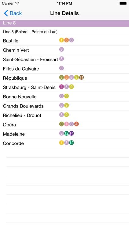 Paris Metro Route Planner screenshot-3