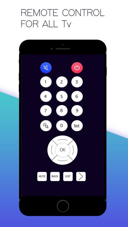 Smart TV Remote ControlSmart screenshot-4