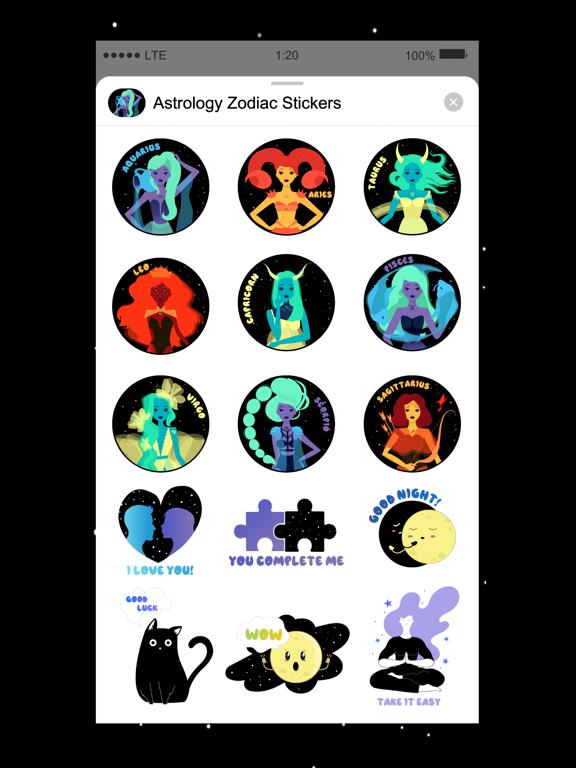 Horoscope & Astrology Stickers screenshot 5