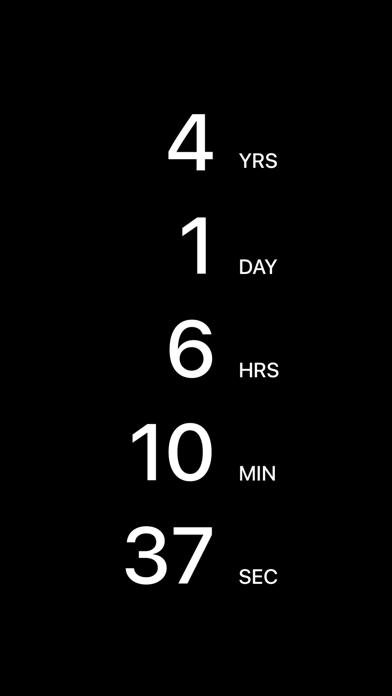 Countdown App screenshot 1