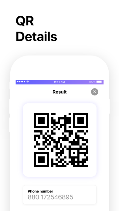 QR Code Reader゜ screenshot four