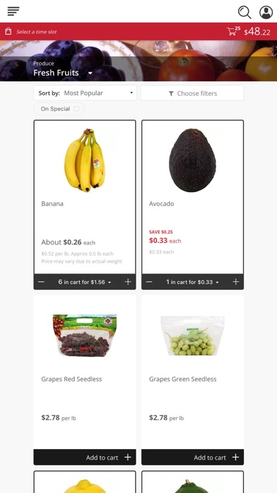 Marketon Supermarkets screenshot 2