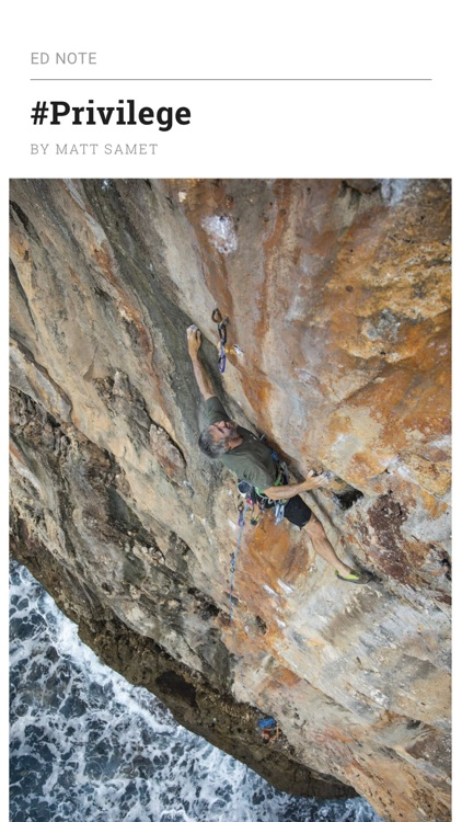 Climbing Magazine screenshot-1