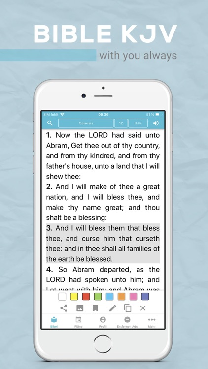 Bible KJV screenshot-0
