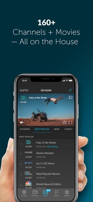 XUMO: TV & Movie Streaming on the App Store