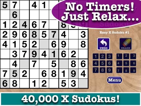 FREE Expert Sudoku - Samurai, Hyper, Jigsaw and X (Cross) Sudokus to Challenge You! screenshot