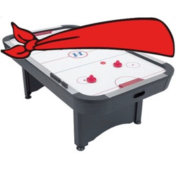 Blindfold Air Hockey