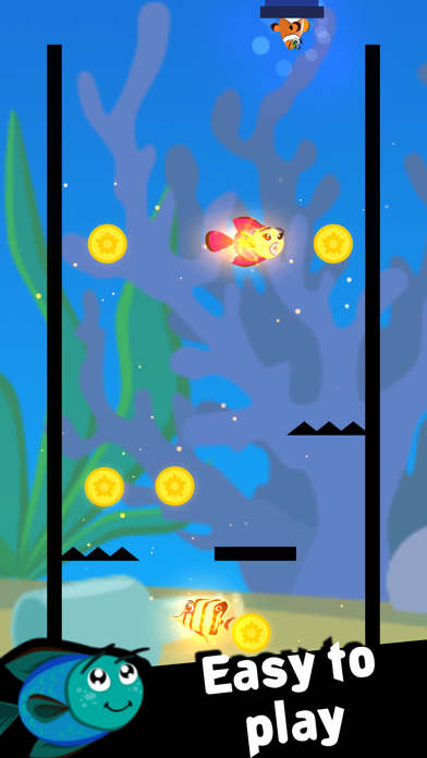 Gold Fish Drop Screenshots