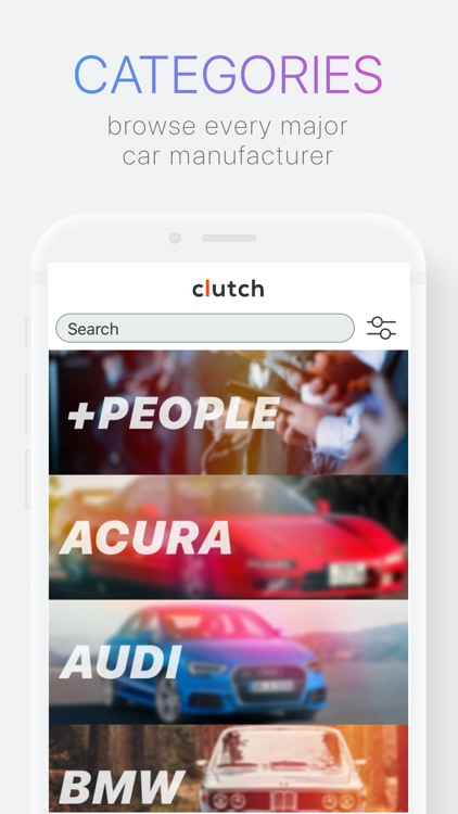 Clutch: Buy & Sell Used Cars