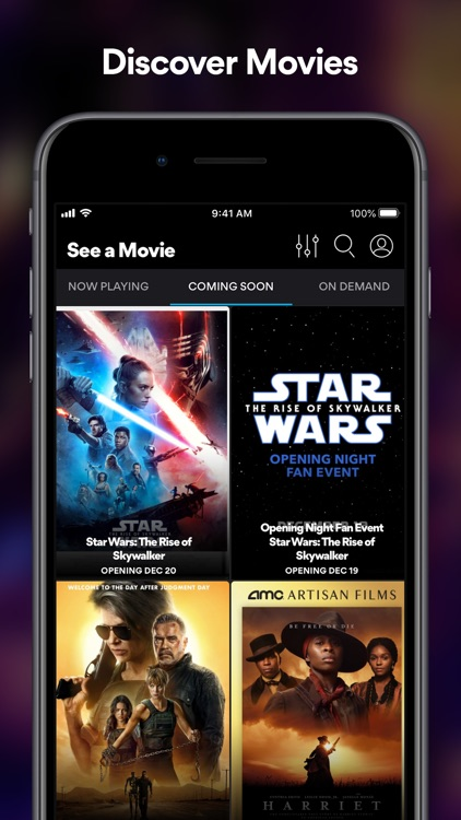 AMC Theatres: Movies & More screenshot-0