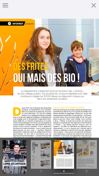 Loire-Atlantique Magazine screenshot three