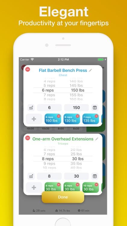 Weightlifting App screenshot-5